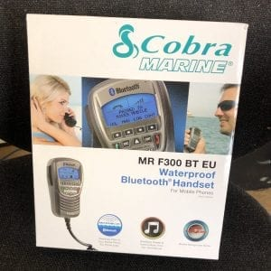 Cobra Marine MR F300 BT EU Waterproof Bluetooth Handset