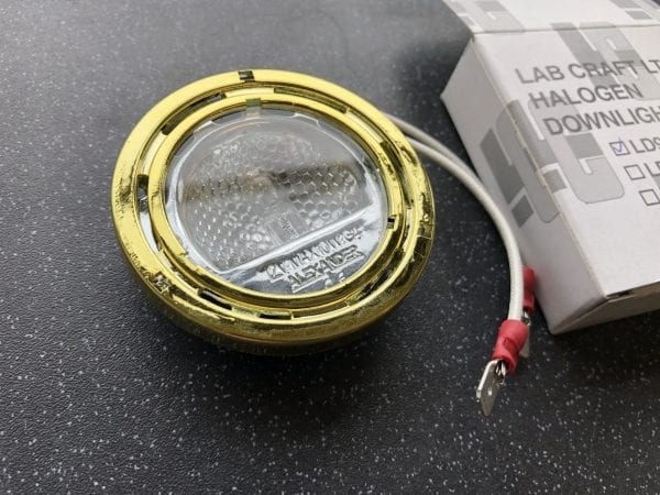 LAB Craft Ltd Halogen Downlighter LD900B Brass