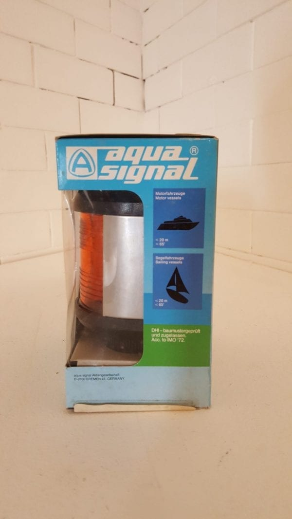 Aqua Signal Series 40 Yellow Stern Navigation Light