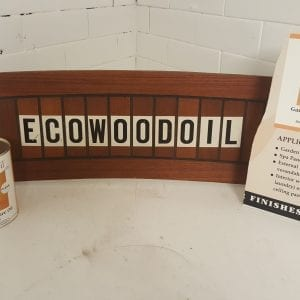 Ecowoodoil Clear Garden Furniture Oil (1ltr)