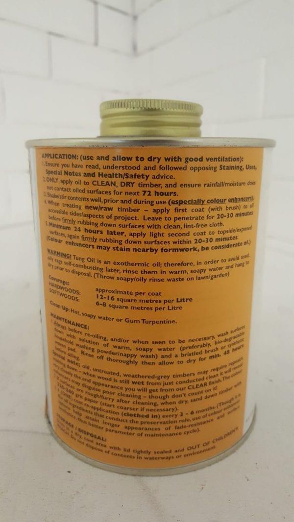 Ecowoodoil Clear Garden Furniture Oil (1ltr)