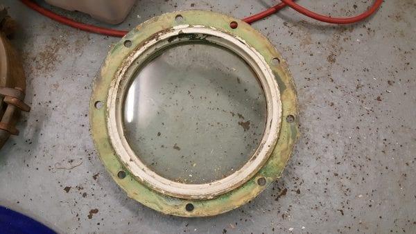 Round Brass Porthole Window 48cm/18.8 inch