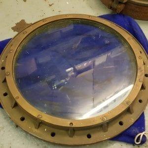 Round Brass Porthole 53.5cm/21 inch
