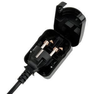 European Converter Plug 3A Fuse