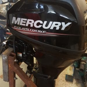 Mercury 15HP Long Shaft 4 Stroke Outboard (2 Years Old)