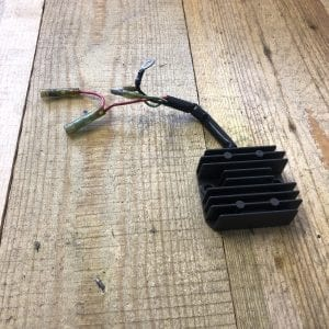 Regulator Rectifier from a Yamaha 9.9 Outboard