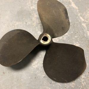 3 blade 13.5 x 57 propeller