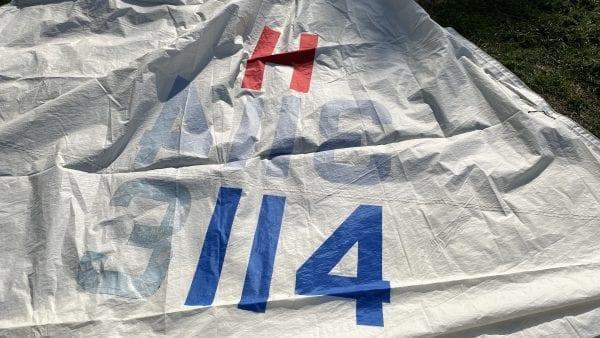 Hood - Genoa 'H3114' - Luff 11.5m, Leech 10.6m, Foot 5.8m Number