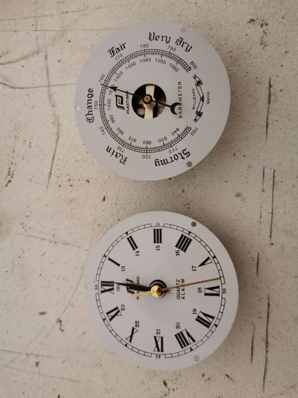 plastimo clock and barometer faces