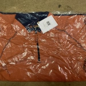Dock Bay Great Outdoor Clothing Burnt Orange Fleece Packaging