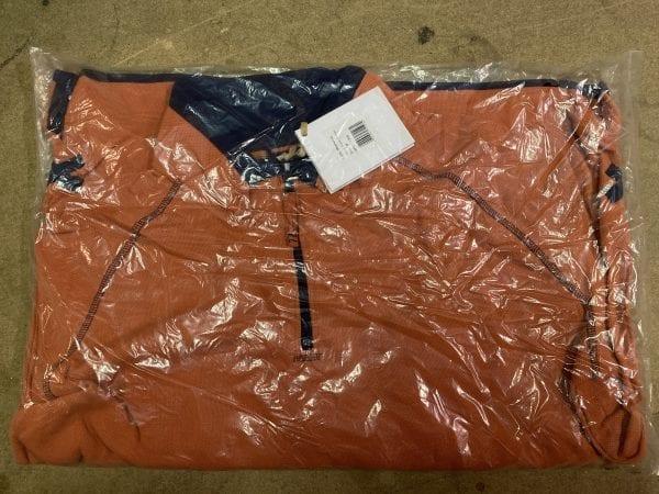 Dock Bay Great Outdoor Clothing Burnt Orange Fleece Packaging