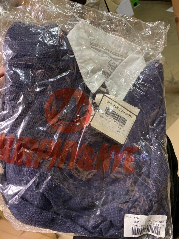 Murphy & Nye, Inc. Funnel sweat shirt