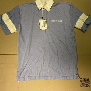 Murphy & Nye, Inc. Funnel and Opener Blue Shirt