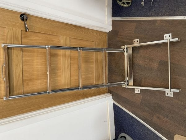 osculati top line ladder with slide extended