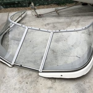 wraparound windscreen - complete