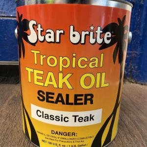 Starbrite Tropical Teak Oil Sealer Classic Teak 3.79L