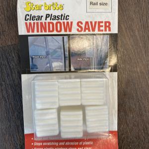 Starbrite Clear Plastic Window Saver