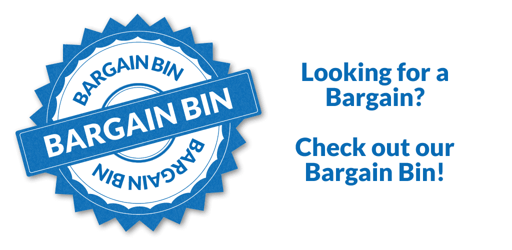 find a bargain in our bargain bin