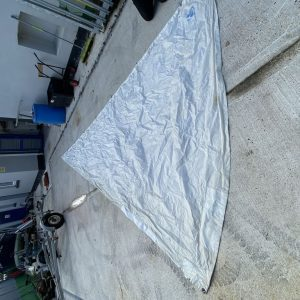 genoa from westerway sails luff 610cm hanked